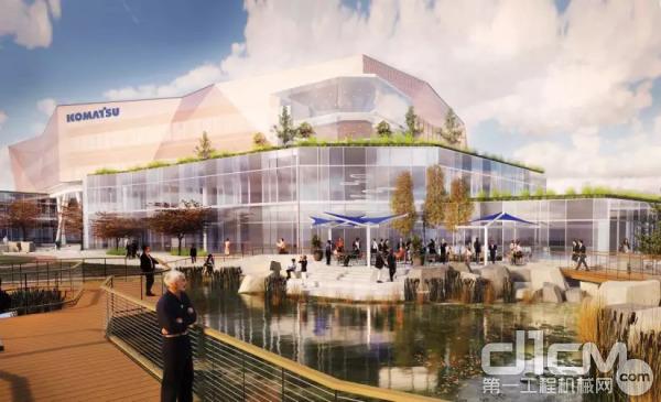 小松矿业新总部规划示意图