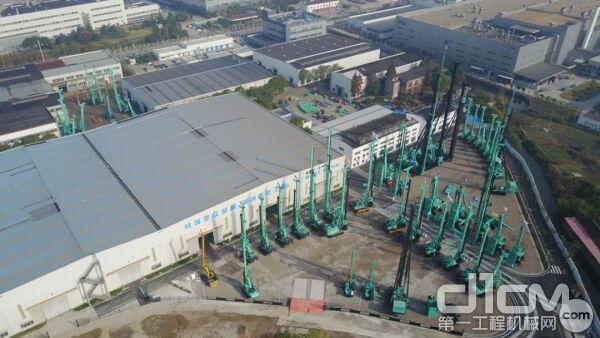 金泰工厂鸟瞰图