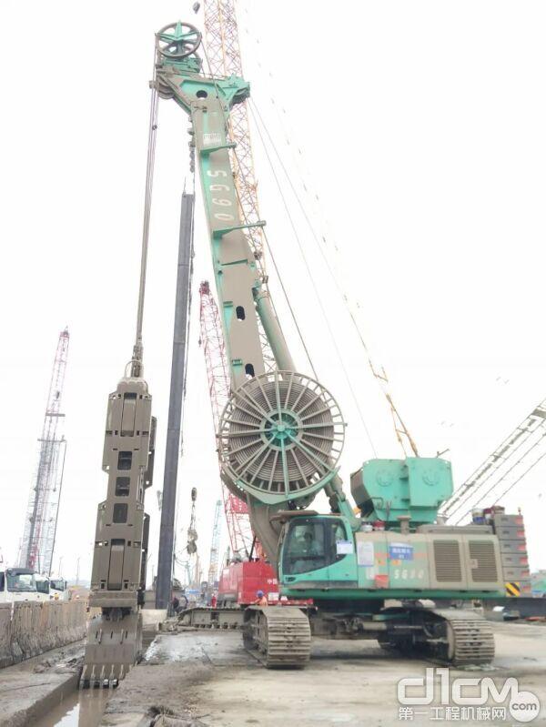 金泰SG90南京地下空间项目