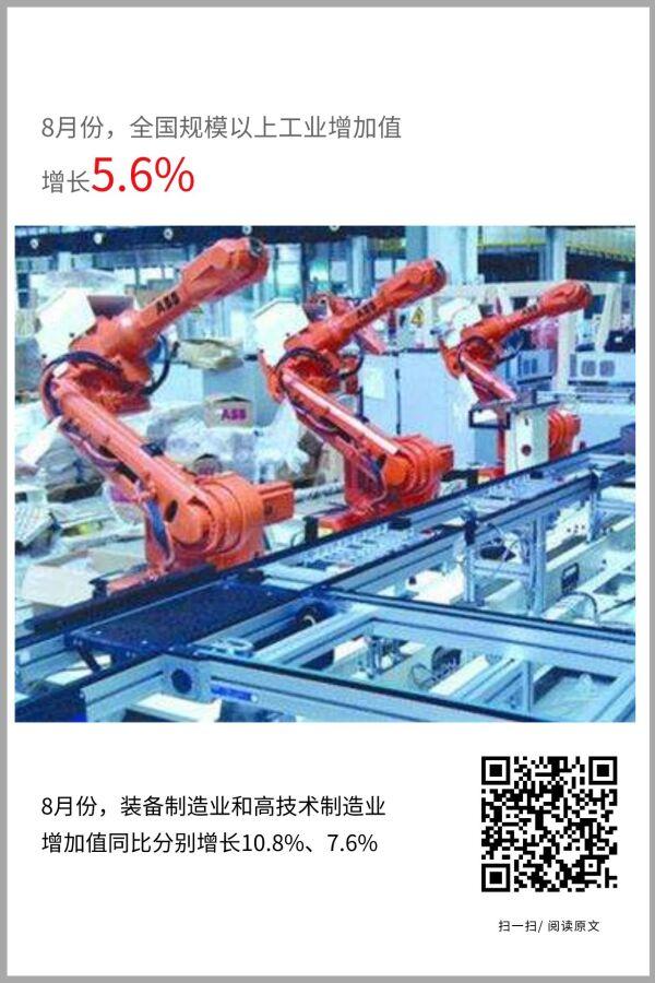 工业生产加快恢复,累计增速由负转正