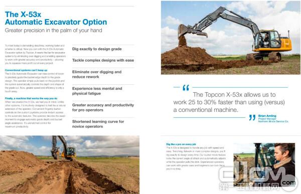 Topcon X-53x 挖掘机3D控制系统介绍