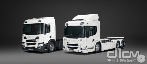 斯堪尼亚推出首个电动卡车系列
