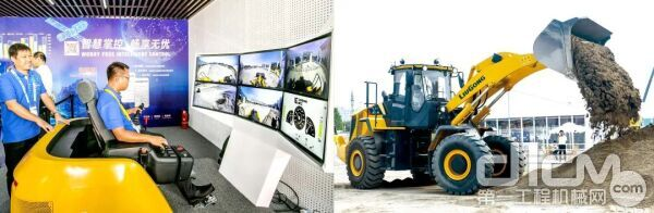 柳工应用5G技术,在北京遥控位于广西柳州的工程机械设备