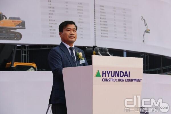 现代(江苏)工程机械有限公司总经理李元泰常务