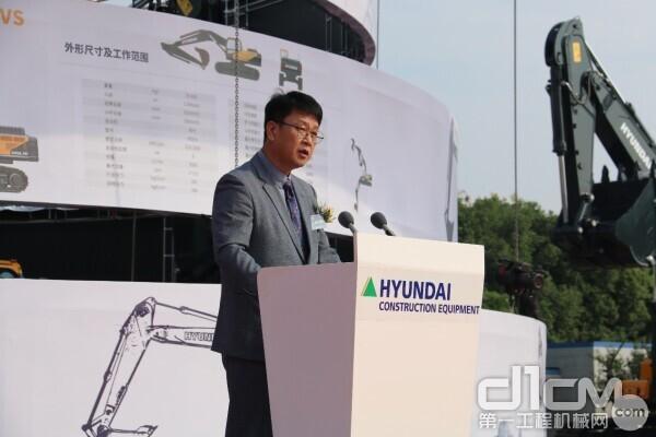 现代重工(中国)投资有限公司中国研发中心金光敏常务作产品介绍