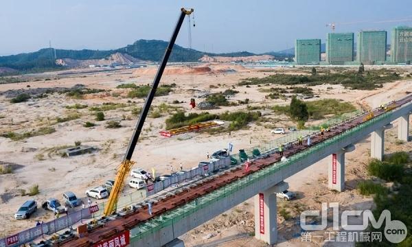 徐工助力磁浮列车建设