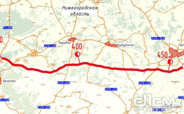 中国铁建中标俄罗斯公路