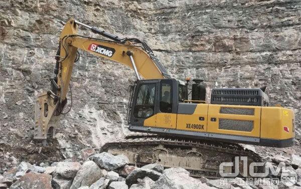 徐工挖机助力绿色矿山