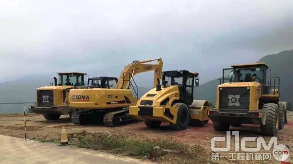 厦工挖掘机表现获用户认可