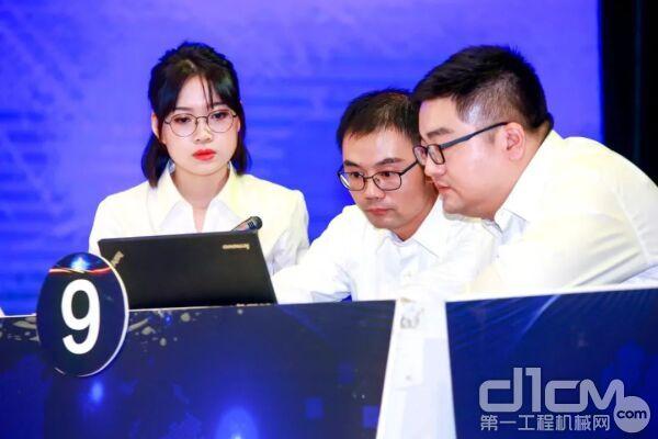 山河智能环境安全办姚国强、李典隆、张雨微代表长沙县参加比赛
