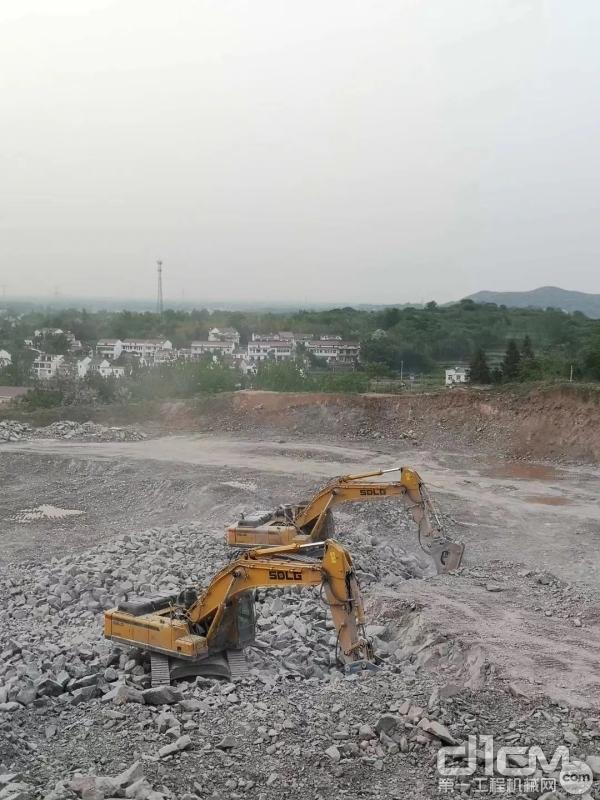 山东临工挖掘机