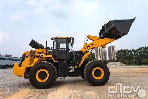 图解说设备:焕然一新,柳工新CLG862H装载机为强悍而生!