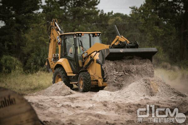Cat 挖掘装载机