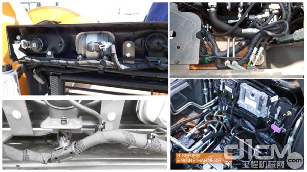 B系列滑移电气线束的品质升级