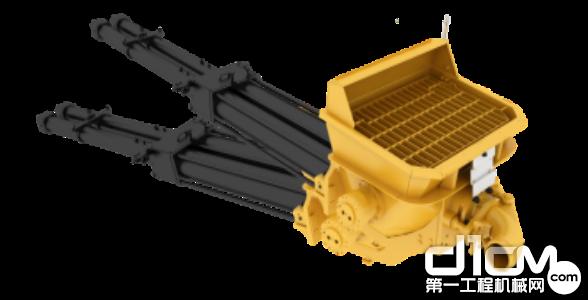 搭载了专门为机制砂研发的超流畅泵送系统