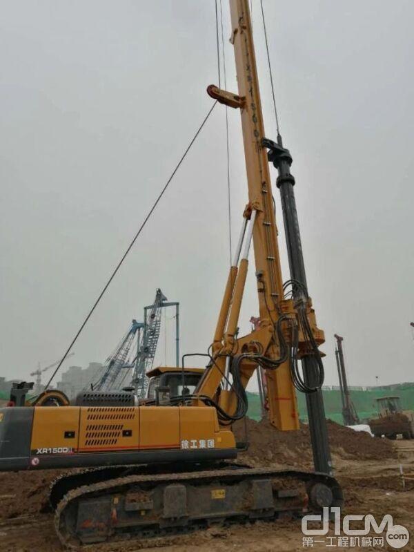 徐工XR150DIII型旋挖钻机