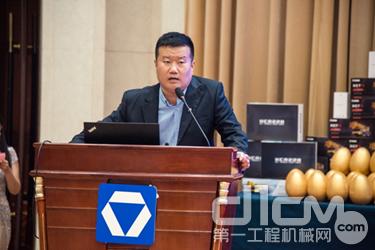 山东榄程机械设备有限公司副总经理殷宪伟先生