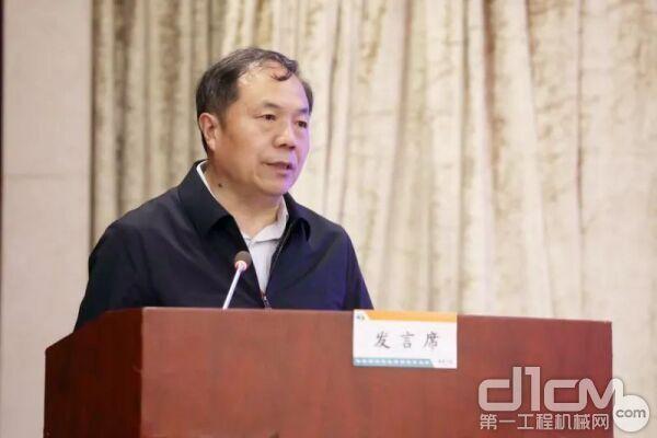 武九客专湖北公司总经理王志坚讲话