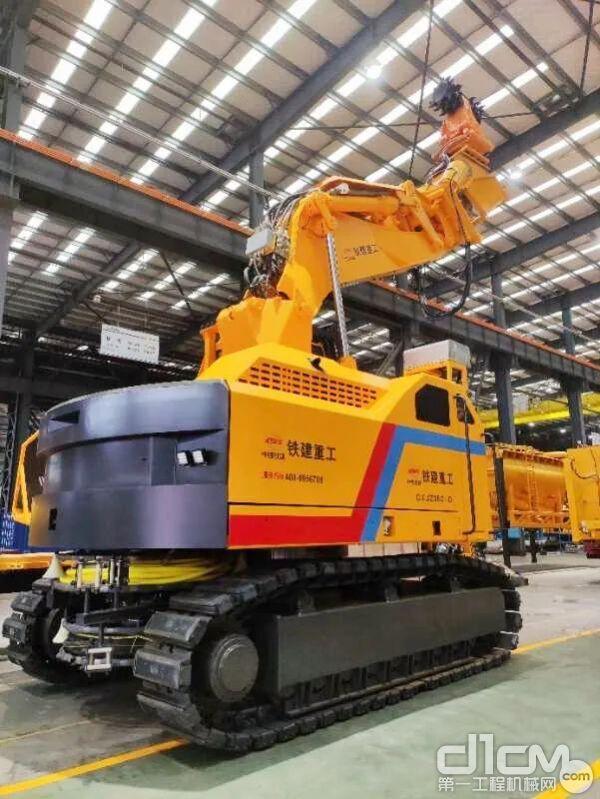 铁建重工智能型铲铣机