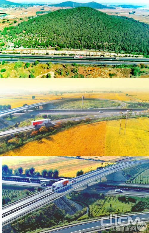 徐工汉风G7 ULT载货车驰骋在公路上