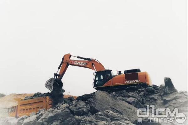 """凯斯CX500C挖掘机 :欢迎来我的""""矿海""""!"""