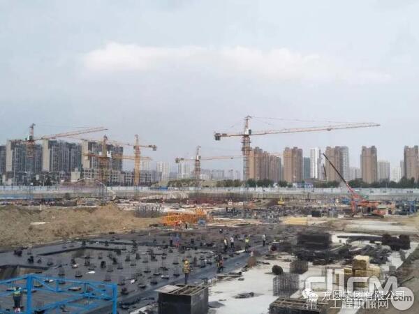 疫情阴影下,方圆塔机倾情致力于青岛西海岸工程建设