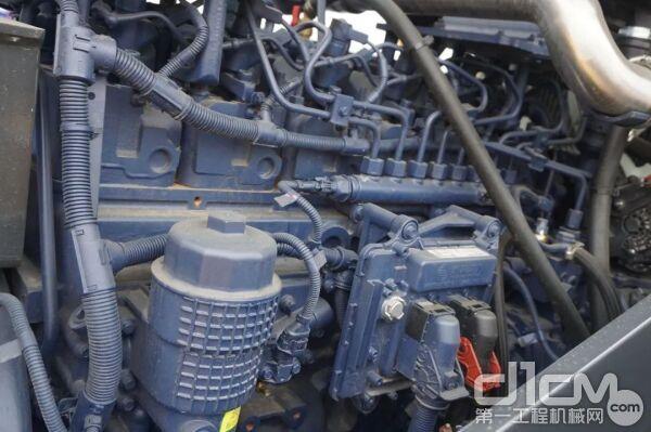 满足国三排放标准的潍柴发动机,额定功率140kW