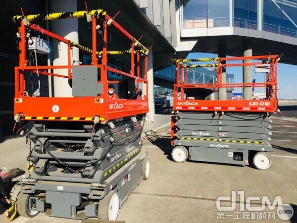 SJ4740的控制系统和稳定的设计使其成为机场匝道应用的理想选择