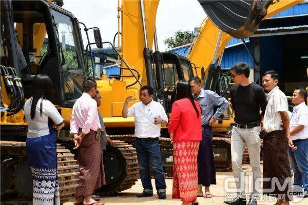 """柳工和缅甸当地大企业""""推""""进合作,""""挖""""掘未来"""