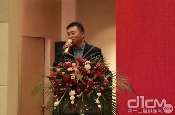 2020年度优秀代理商代表江苏戴克董事长张冠斌先生
