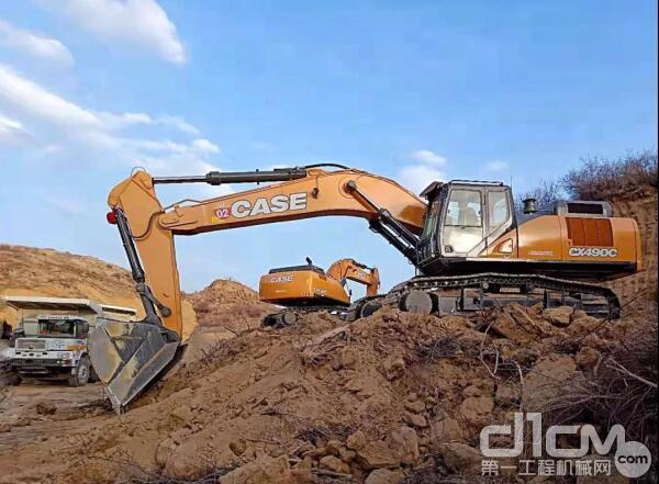 凯斯CX490C挖掘机
