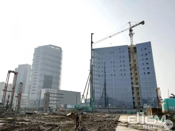 SC65南京NO.2014G34项目A地块工程 (建筑基坑止水帷幕)