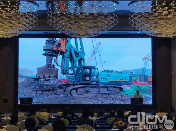 山河智能全球首次现场展示5G智能旋挖钻机远程遥控作业