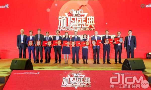"""三一泵送荣获中国工程机械十大营销事件""""最佳客户关爱奖"""""""