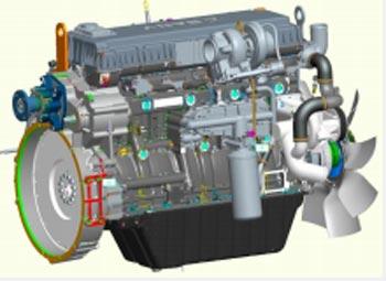 三一道依茨D09发动机