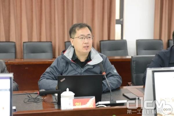 全国建筑施工机械与设备标准化技术委员会刘双秘书长致辞
