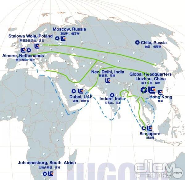 锐斯塔全球营销网点