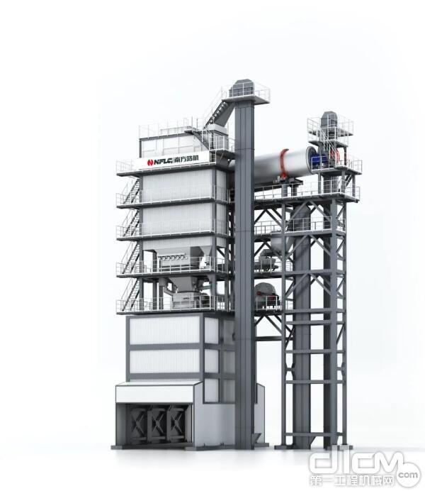 南方路机GLBR系列整体式沥青混合料搅拌设备