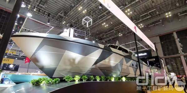 潍柴法拉帝FSD195型高速巡逻船