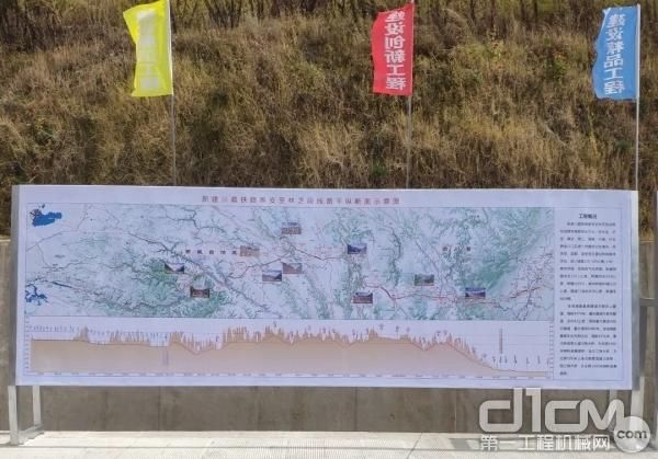 川藏铁路示意图