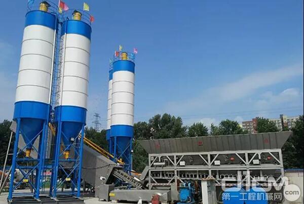 bauma CHINA 2020 南方路机展品之商品混凝土搅拌设备(三)