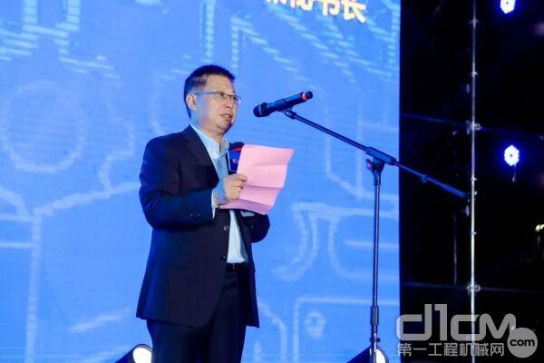 中国工程机械工业协会挖掘机械分会常务副会长兼秘书长李宏宝
