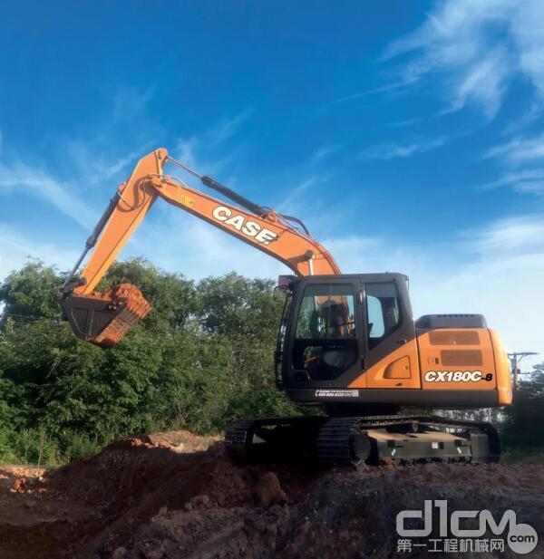 """""""凡尔赛""""青年在此!凯斯CX180C-8挖掘机的大梦想"""