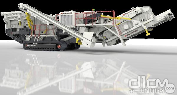 bauma CHINA 2020 南方路机展品之移动破碎筛分设备(一)