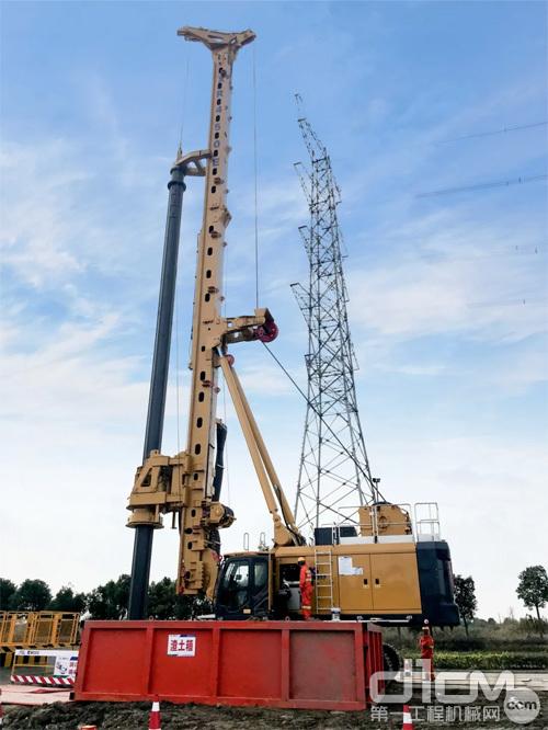 徐工XR450E旋挖钻机