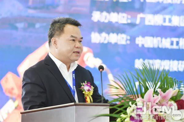 柳工集团总裁郑津
