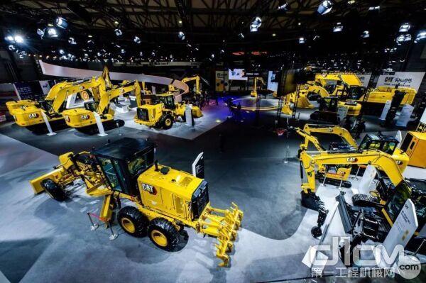 重磅!卡特彼勒携强大阵容亮相2020上海宝马工程机械展!