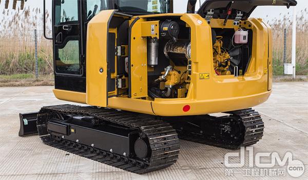 CAT 305.5E2挖掘机维修空间非常便捷