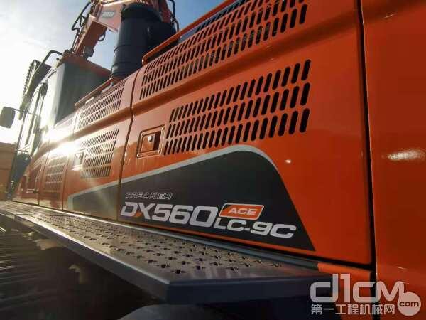 """""""矿山之王"""" DX560LC-9C ACE挖掘机"""