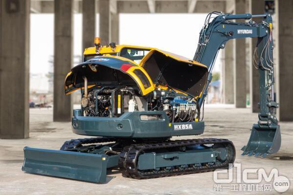 全新现代重工HX85A概念机进入英国和欧洲市场